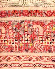 Орнаменты руси вышивка