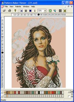 Скачать программу схемы вышивки крестом с фотографии